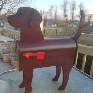 Chocolate Lab | Unique Dog Mailbox