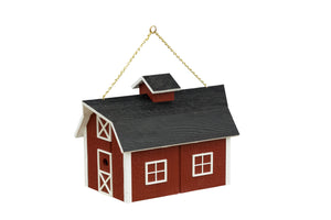 Barn Bird Feeder | Traditional Barn Style Hanging Feeder | K0005