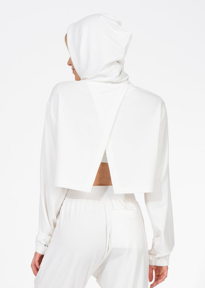 Load image into Gallery viewer, Comforted Crop Hoodie