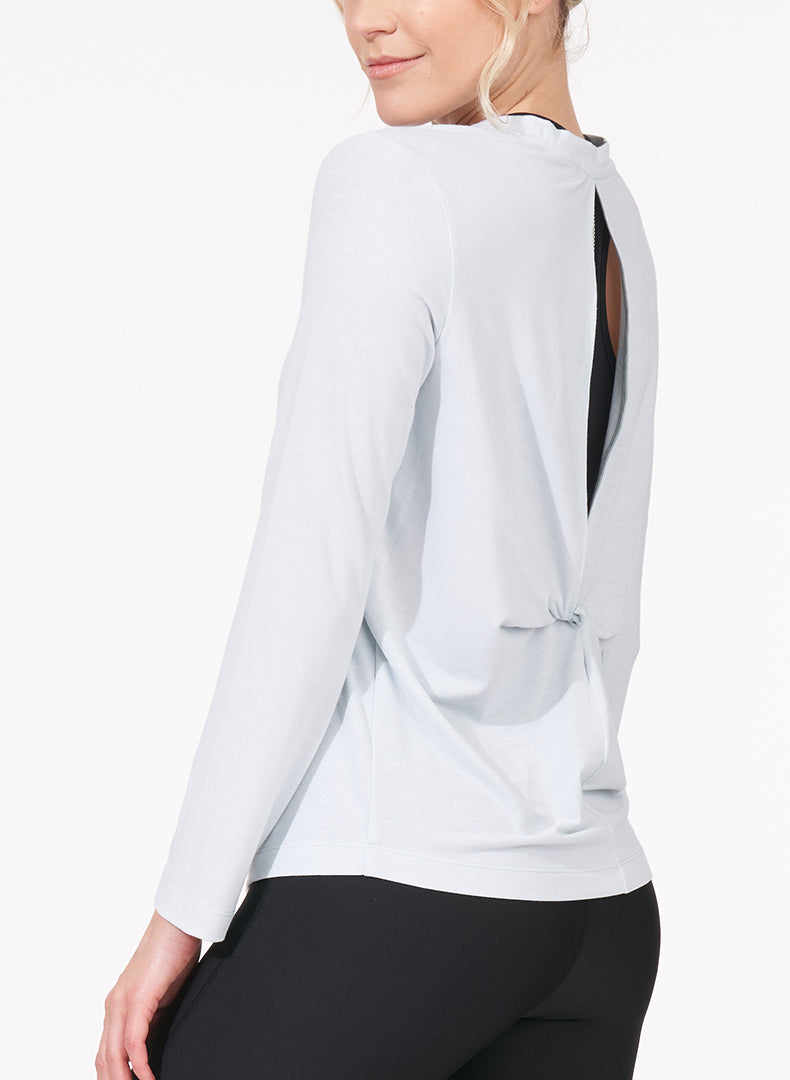 Back Slit Twist Tee