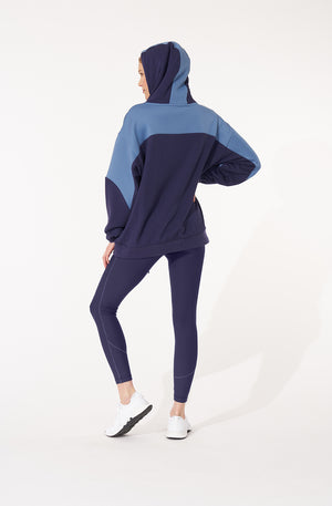 Load image into Gallery viewer, Nestle Mock Neck Hoodie
