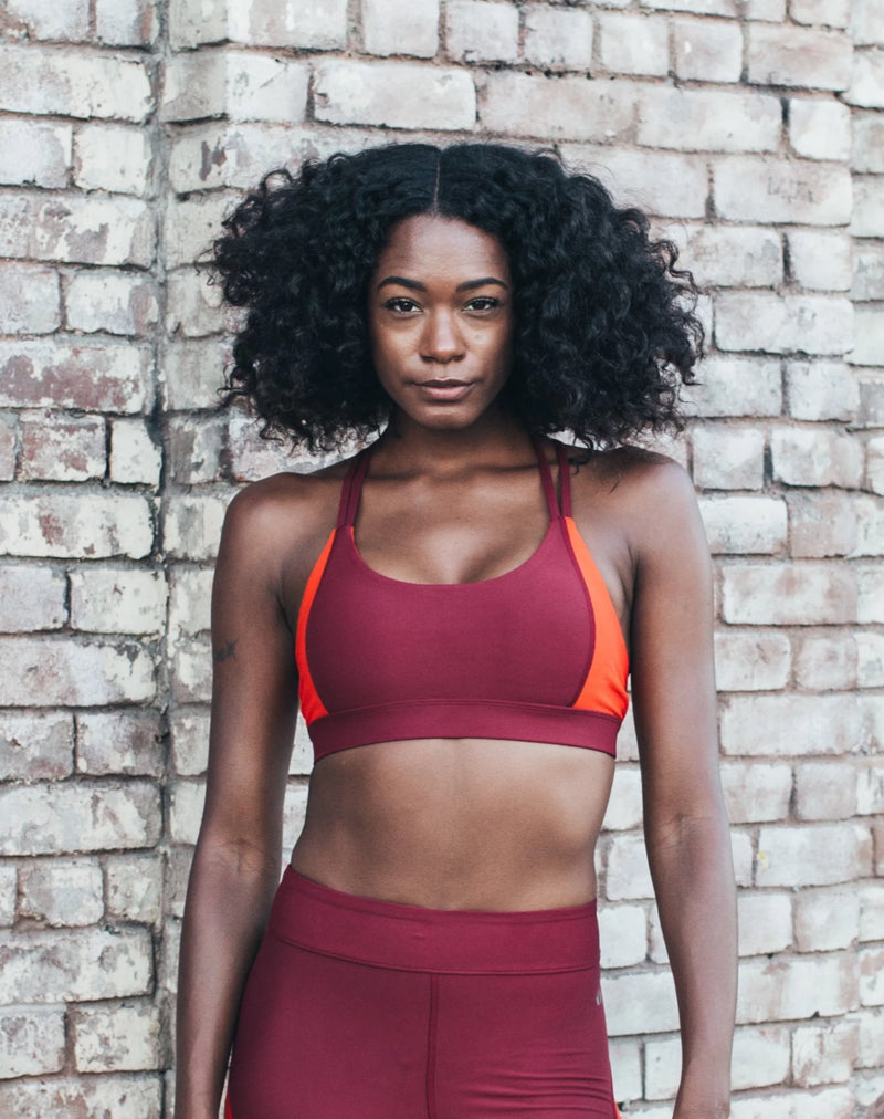 Blocked Sports Bra
