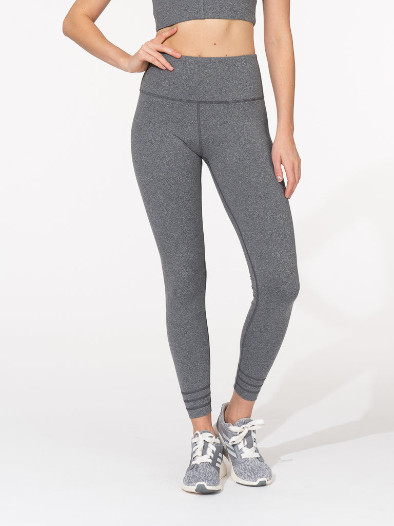 Axis Legging Heather Black