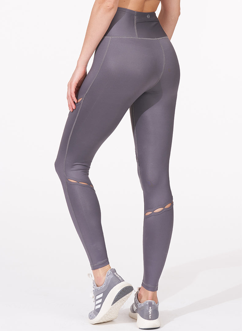 Slit Detail Legging Back