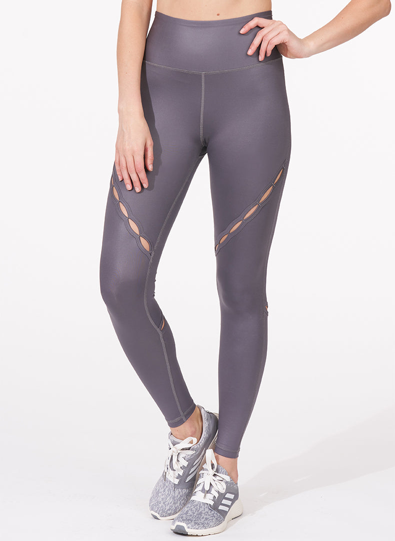Slit Detail Legging Front