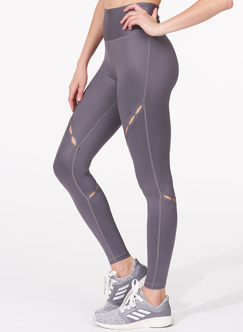 Slit Detail Legging Side
