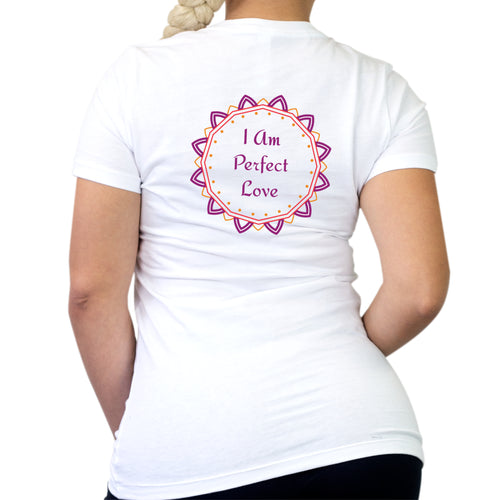 I Am Perfect Love Women's Short Sleeve T-Shirt