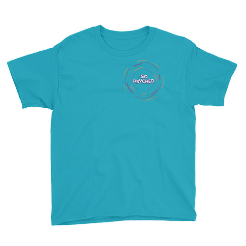 Radiating Circles Youth Short Sleeve T-Shirt