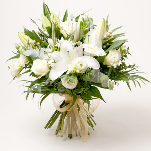 Lily Bouquet  Arrangement with Vase I FREE SHIPPING