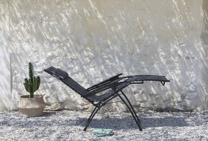 Lafuma Relaxation Recliner Outdoor Chair