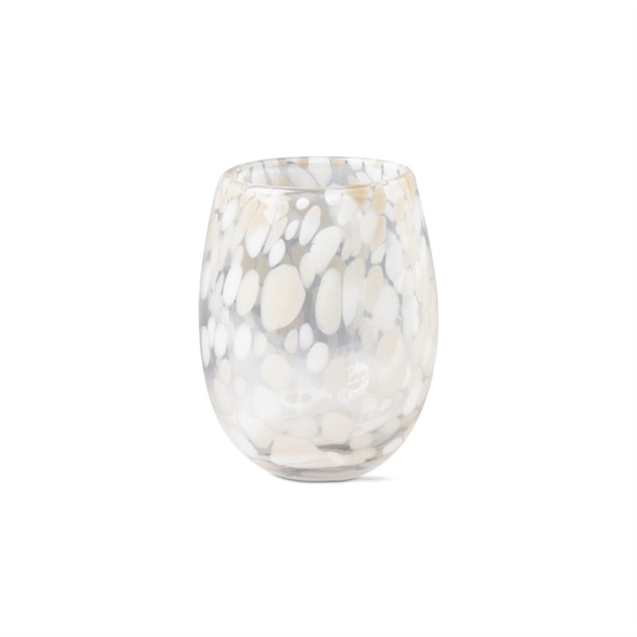 Sand Stemless Wine Glass - Greenhouse Home