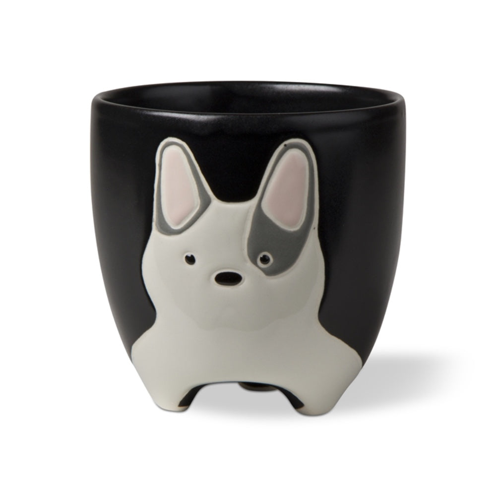 Frenchie Dog Planter - Greenhouse Home