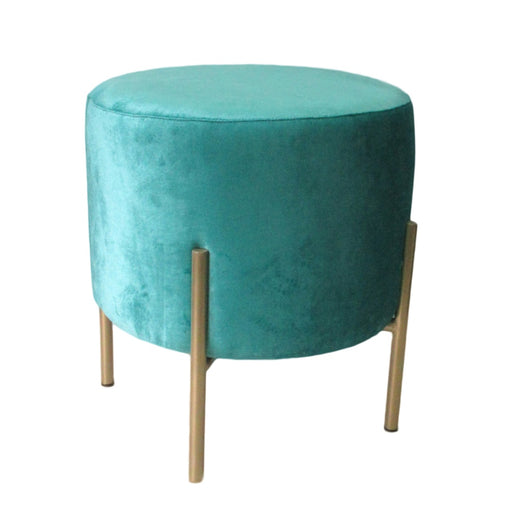 Earth Wind & Fire Round Pouf Stool - Greenhouse Home