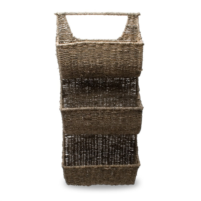 Seagrass Wall Basket - Greenhouse Home