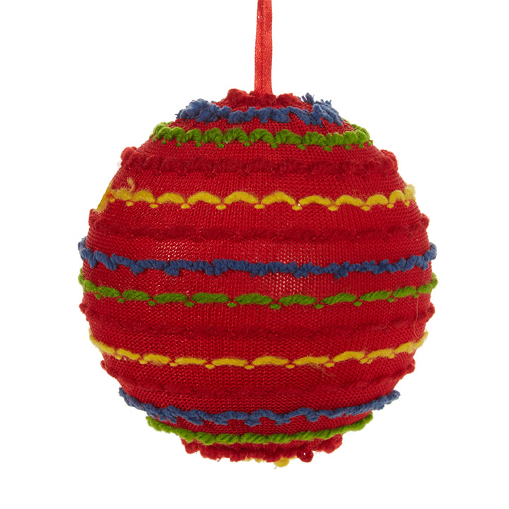 Knit Stripe Ball - Greenhouse Home
