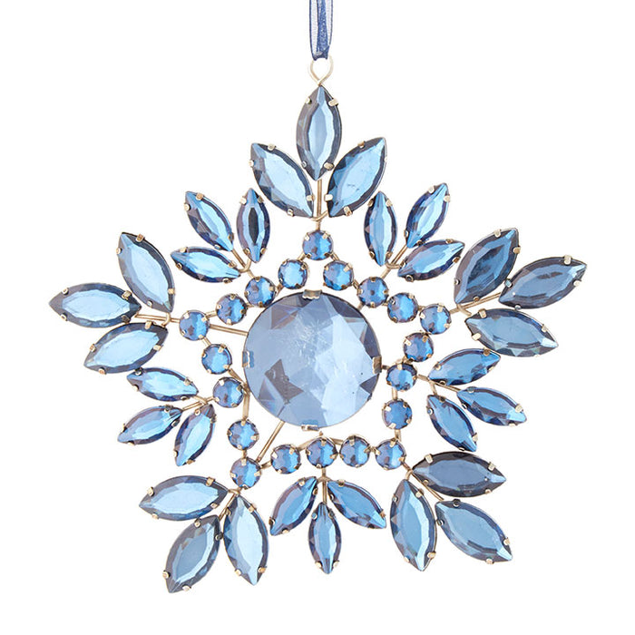 Jeweled Snowflake Ornament - Greenhouse Home