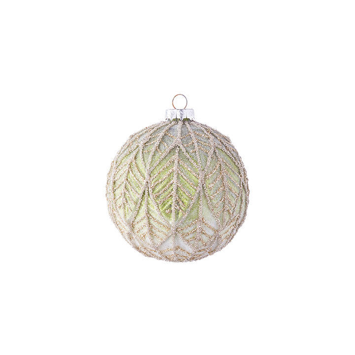 Leaf Pattern Ornament - Greenhouse Home