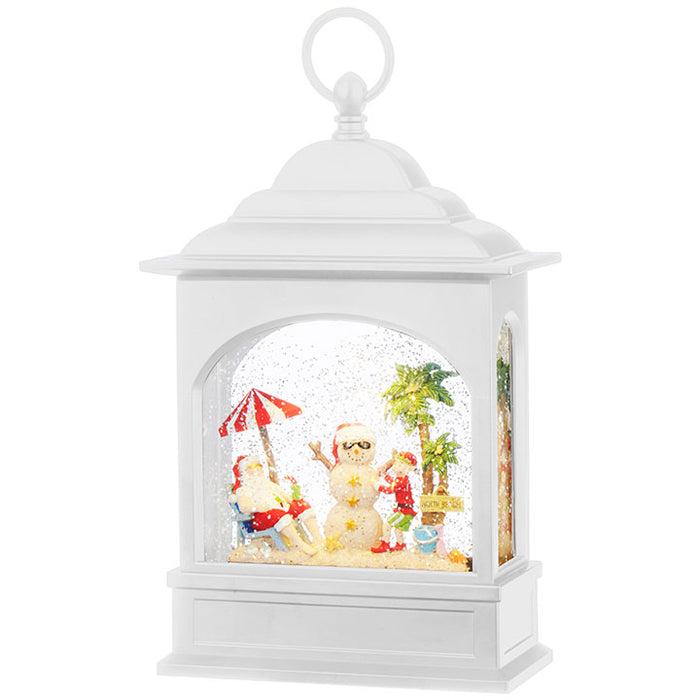 Holiday Lighted Water Lantern - Greenhouse Home