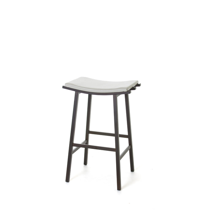 Nathan Non Swivel Stool - Greenhouse Home