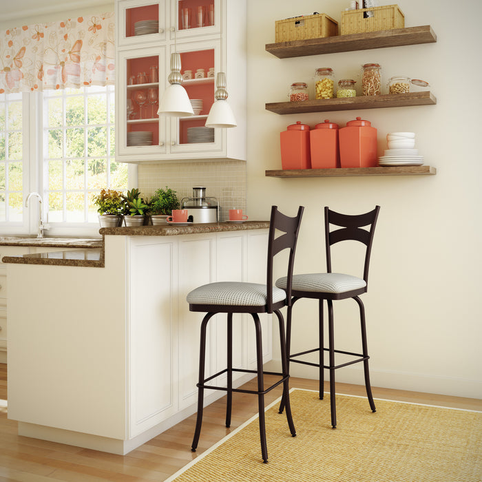 Meadow Counter Swivel Stool - Greenhouse Home