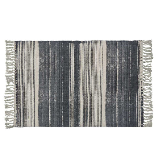 Paintbrush Stripe Rug - Greenhouse Home