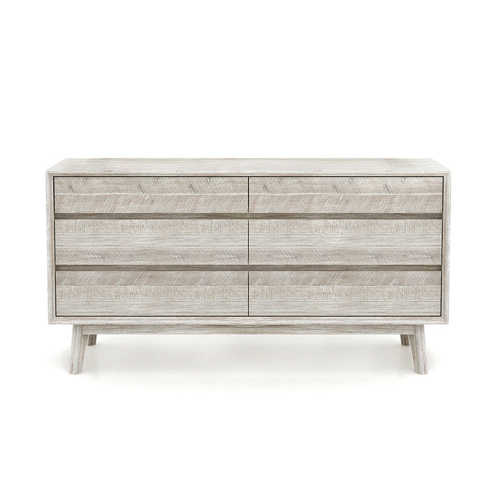 Gia Six Drawer Dresser - Greenhouse Home
