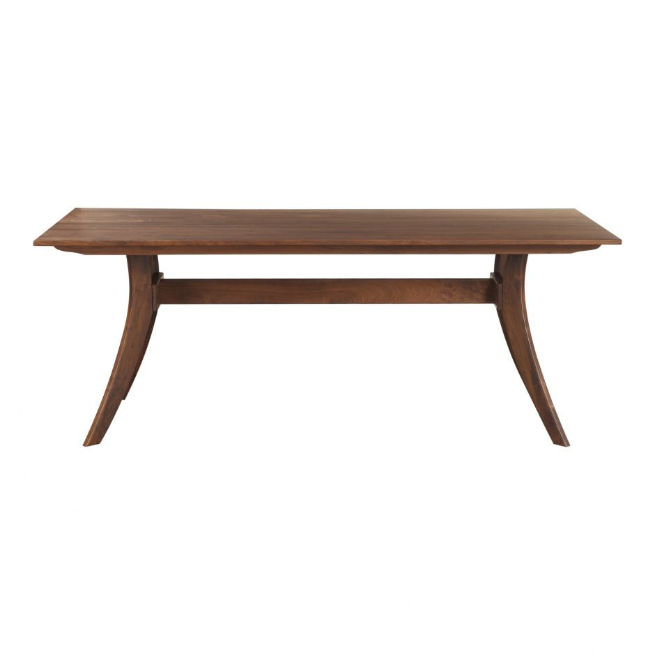 Florence Rectangular Walnut Dining Table - Greenhouse Home