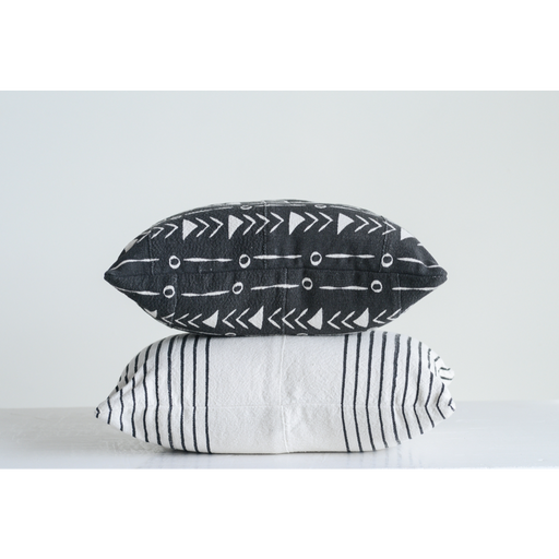 Mudcloth Patterned Pillow