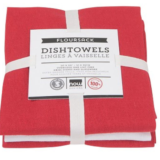 Floursack Dishtowels - Set of 3 - Greenhouse Home