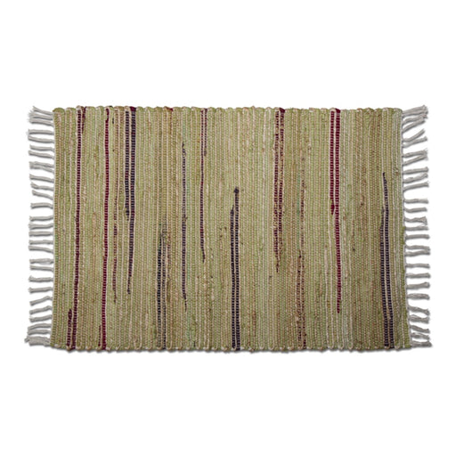 Cotton Chindi Jute Rug - Greenhouse Home