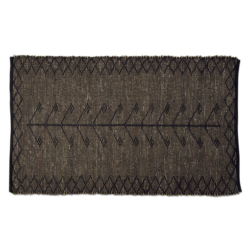 Black Chaka Seagrass Rug - Greenhouse Home