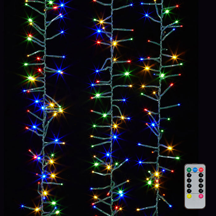 10' Cluster Garland Lights - Greenhouse Home