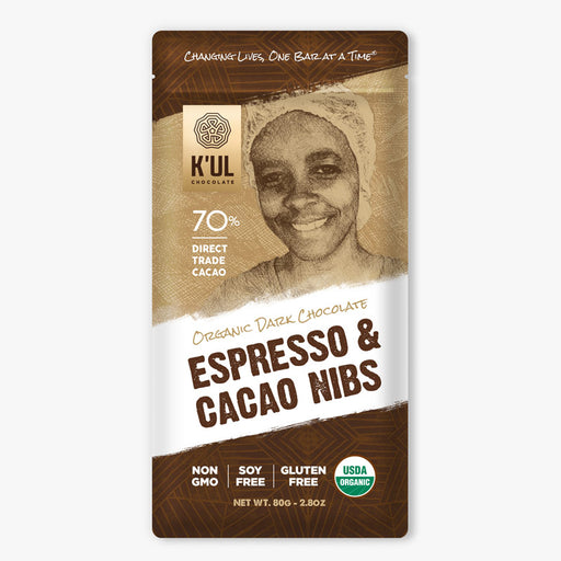 K'UL Espresso and Cacao Nib Chocolate - Greenhouse Home