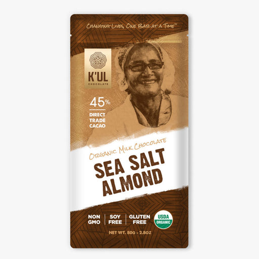 K'UL Sea Salt Almond Chocolate - Greenhouse Home