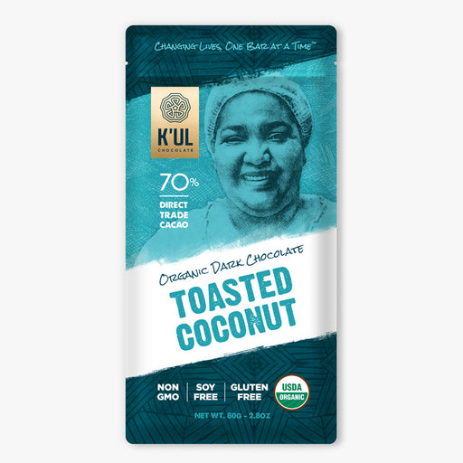 K'UL Toasted Coconut Chocolate - Greenhouse Home