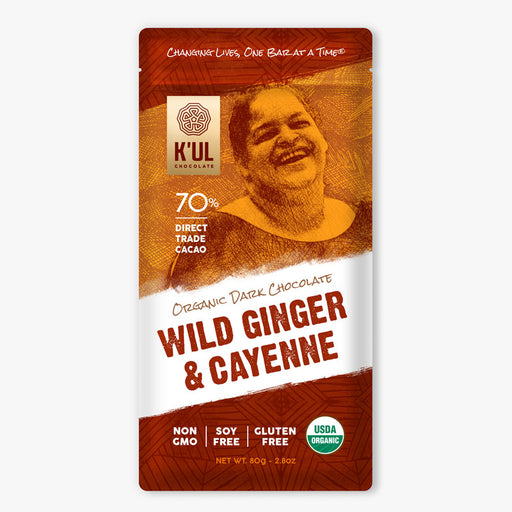 K'UL Wild Ginger and Cayenne Chocolate