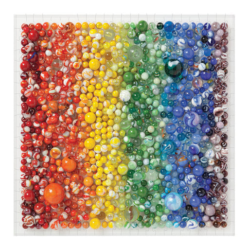 Rainbow Marbles 500 Piece Puzzle by Julie Seabrook Ream