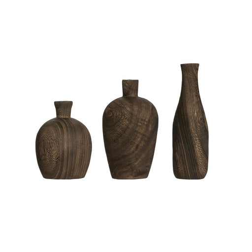 Paulownia Wood Vase - Greenhouse Home