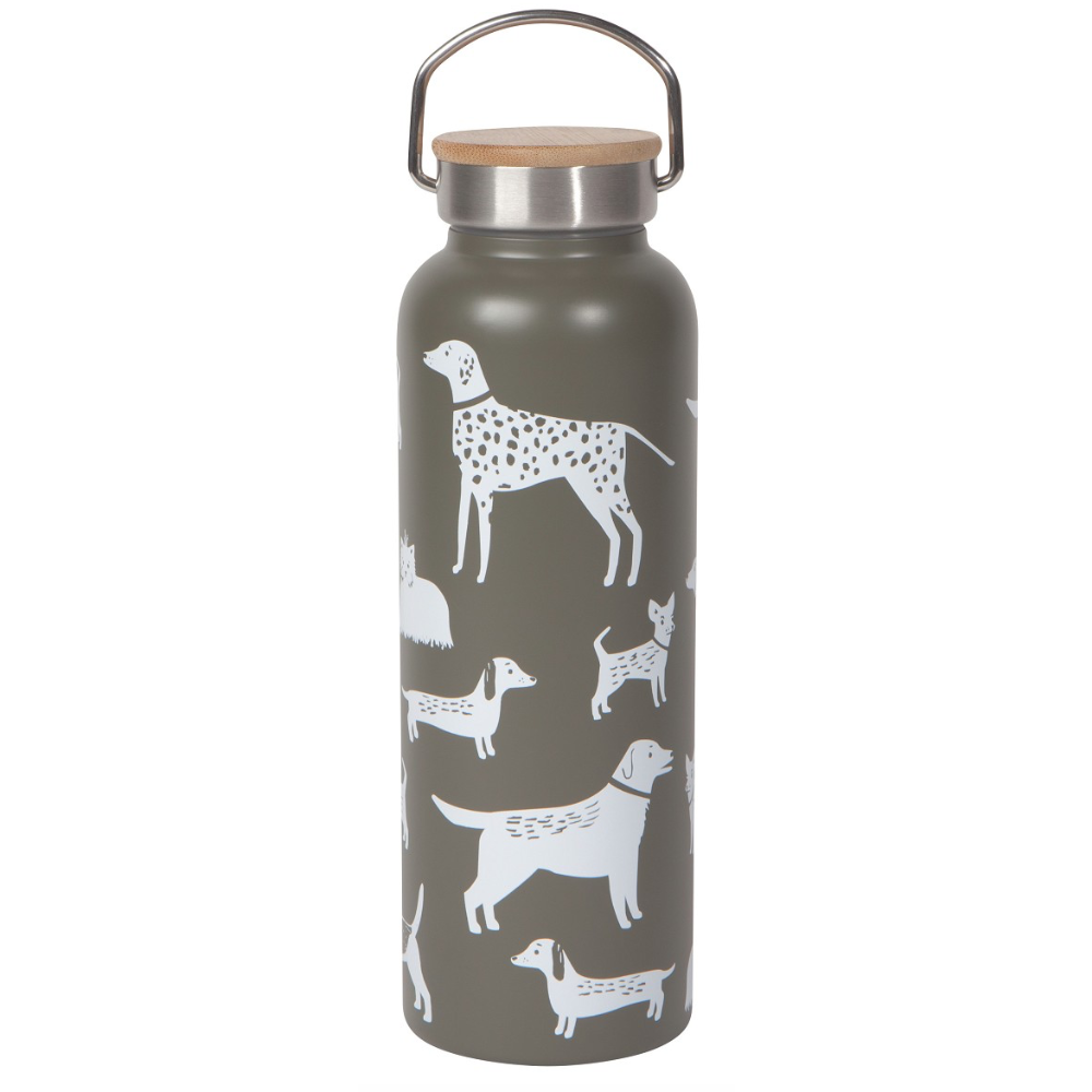 Dog Days Water Bottle - Greenhouse Home
