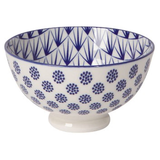 Stamped Blue Dots Bowl