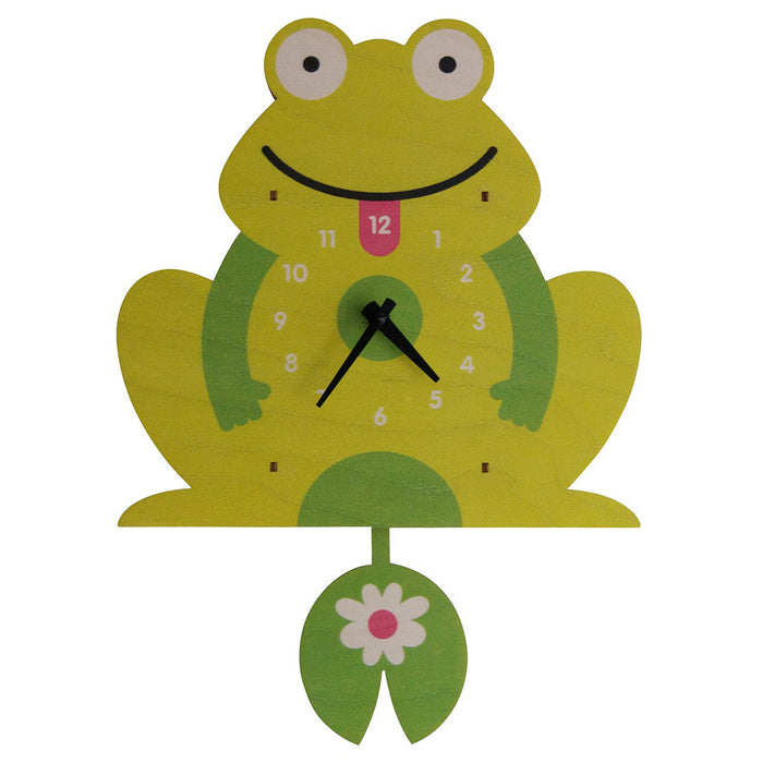 Frog Pendulum Clock - Greenhouse Home