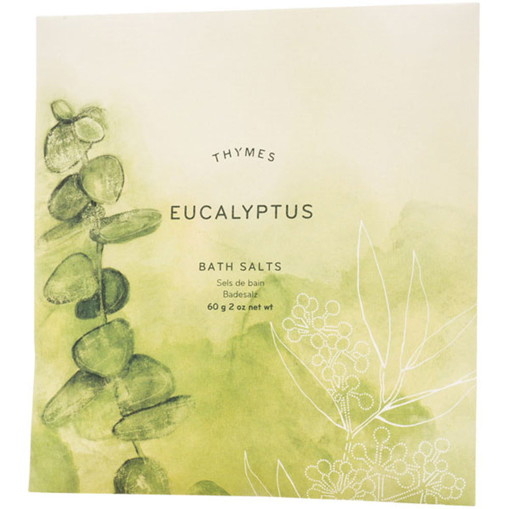 Eucalyptus Bath Salts Envelope - Greenhouse Home