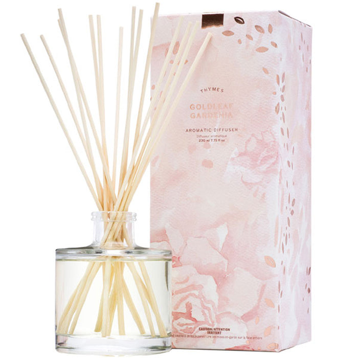 Goldleaf Gardenia Reed Diffuser - Greenhouse Home
