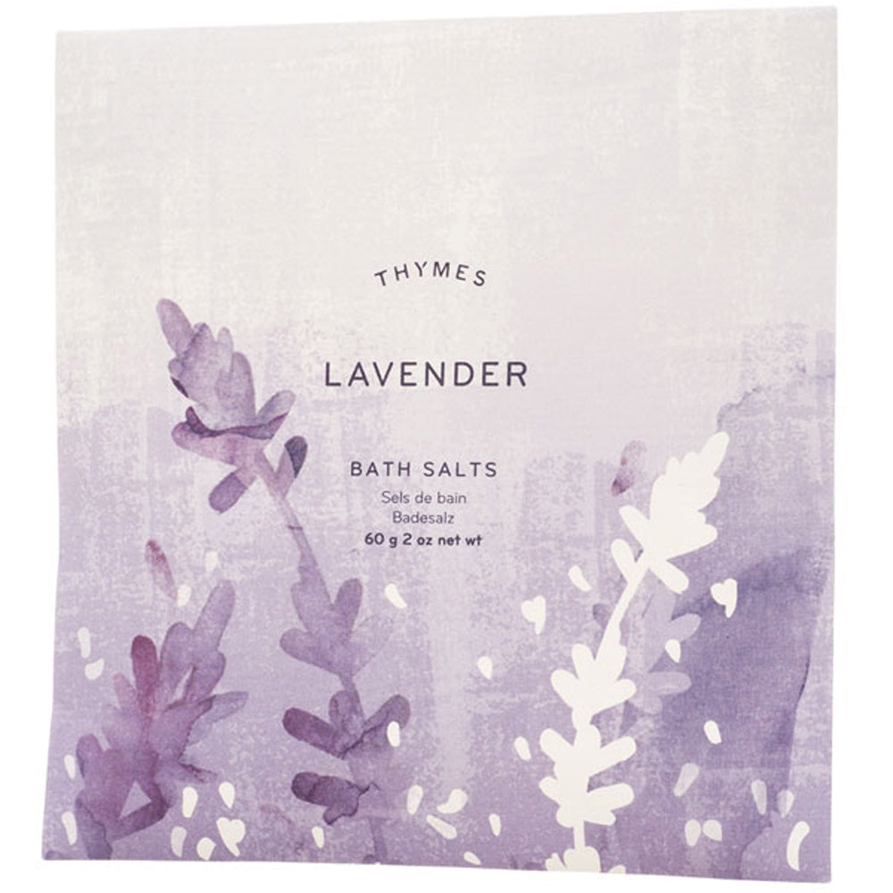 Lavender Bath Salts Envelope