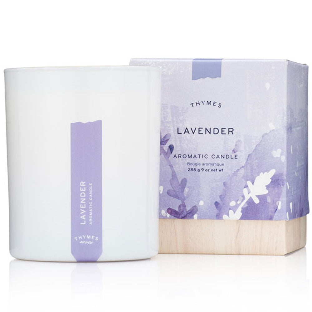 Lavender Candle - Greenhouse Home