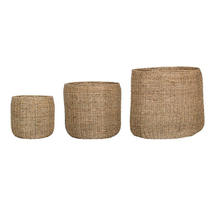 Natural Seagrass Baskets - Greenhouse Home