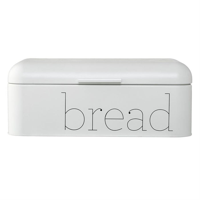 Metal White Bread Bin