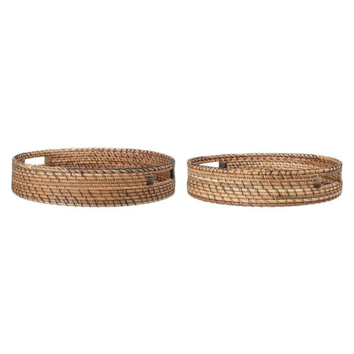 Decorative Woven Rattan Trays
