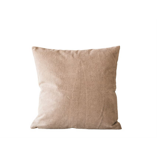 Cotton Corduroy Front Pillow