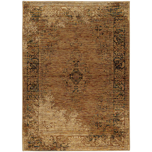 Andorra Rug in Brown - Greenhouse Home